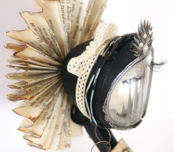 SAnna Lippert, mixed media art doll
