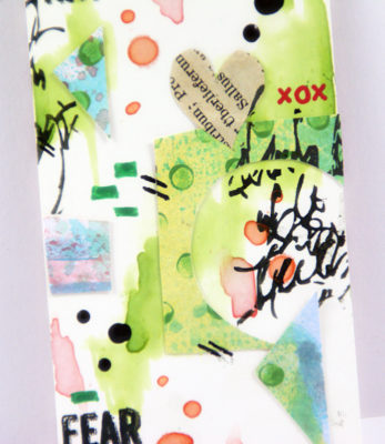 Sanna Lippert - mixed media tags