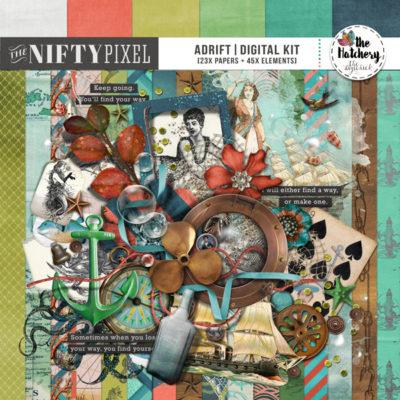 ADRIFT, THE NIFTY PIXEL